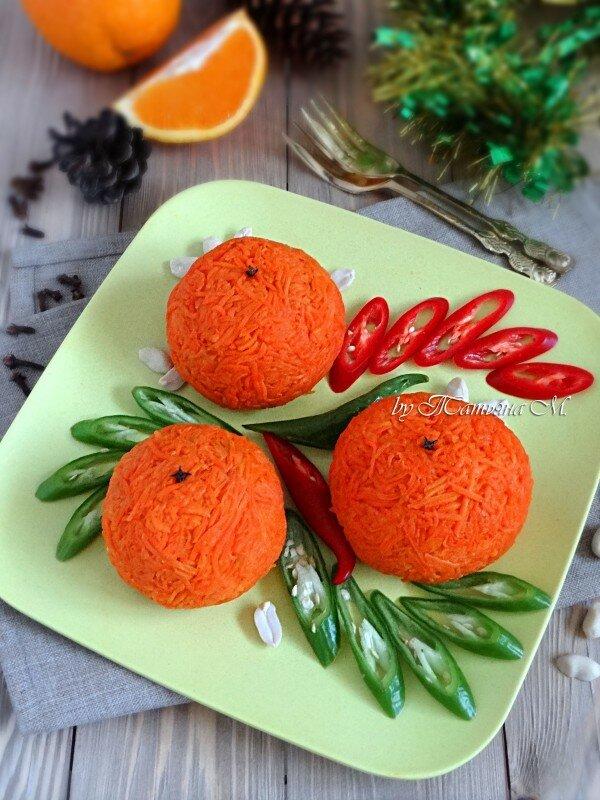 "Рыбный салат-закуска ""Апельсин"""